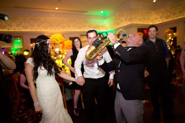 Sax Russian Wedding