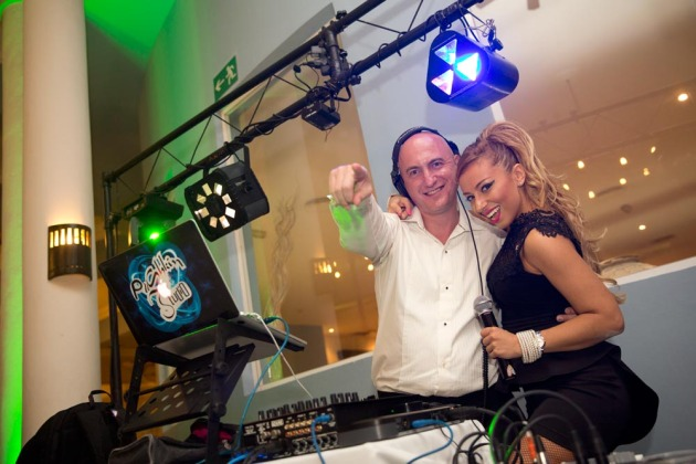 DJ Pushkin and Irina Gleyzer
