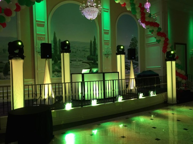 dj and lighting system