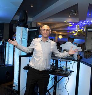 Russian DJ for Bar and Bat Mitzvah